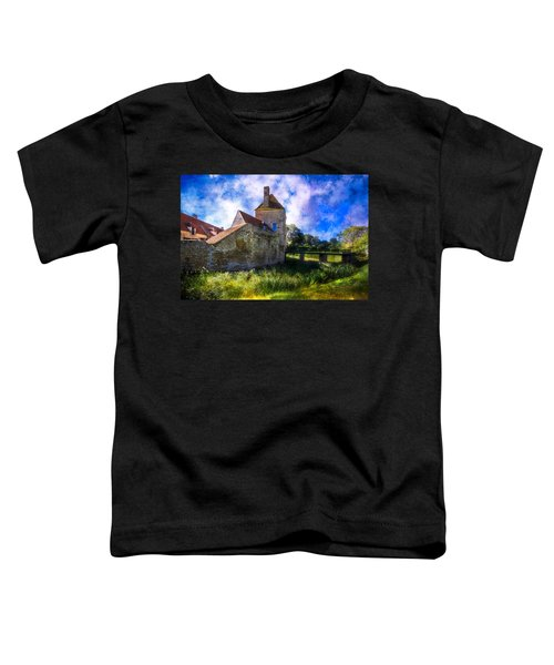 Spring Romance In The French Countryside Toddler T-Shirt by Debra and Dave Vanderlaan