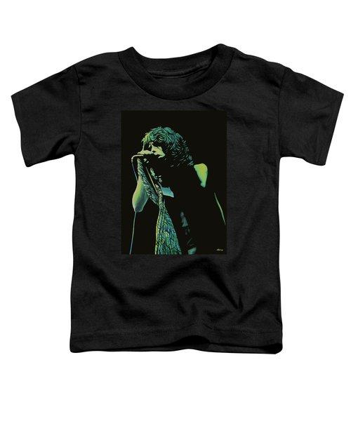 Steven Tyler 2 Toddler T-Shirt by Paul Meijering