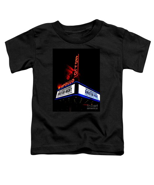 The Apollo Theater Toddler T-Shirt by Ed Weidman