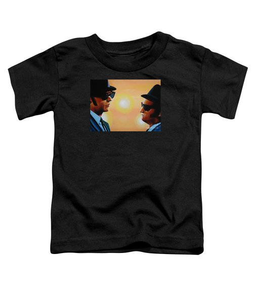 The Blues Brothers Toddler T-Shirt by Paul Meijering