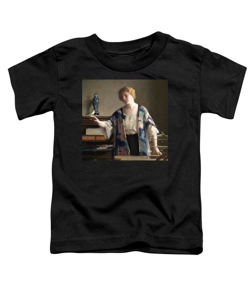 The Canary Toddler T-Shirt by William McGregor Paxson