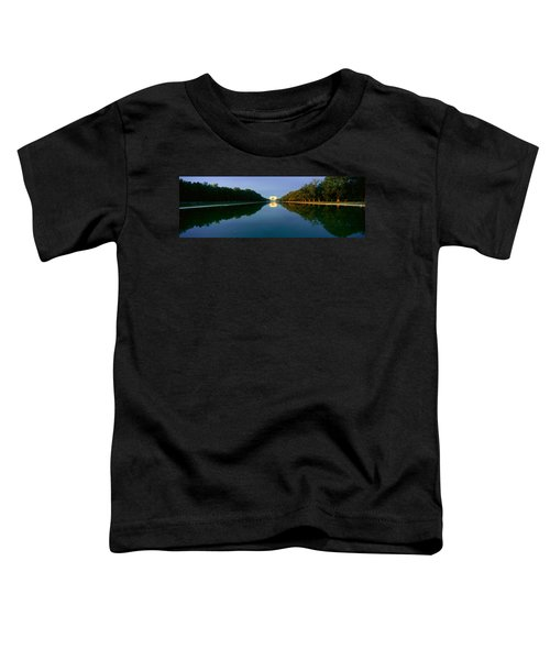 The Lincoln Memorial At Sunrise Toddler T-Shirt by Panoramic Images