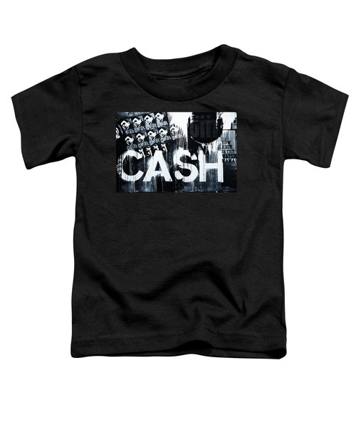 The Man In Black Toddler T-Shirt by Dan Sproul