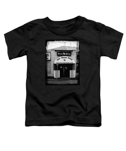 The Stone Pony Toddler T-Shirt by Colleen Kammerer