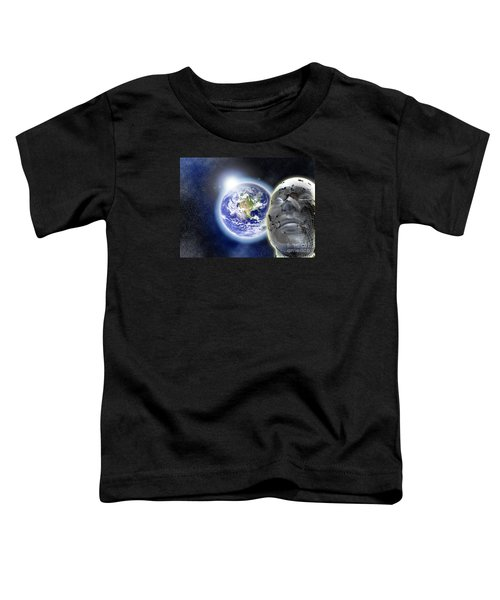 Alone In The Universe Toddler T-Shirt by Stefano Senise