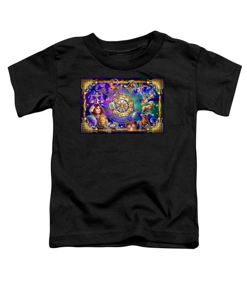 Zodiac 2 Toddler T-Shirt by Ciro Marchetti