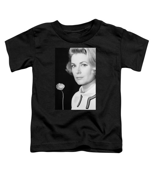 Grace Kelly (1928-1982) Toddler T-Shirt by Granger