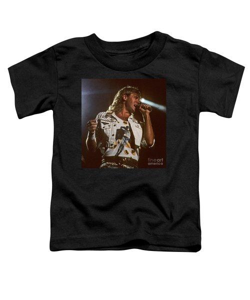 Joe Elliot Toddler T-Shirt by David Plastik
