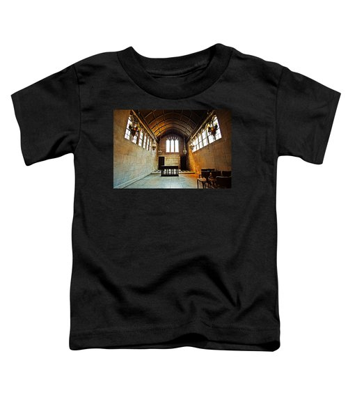 Of Stone And Wood Toddler T-Shirt by CJ Schmit