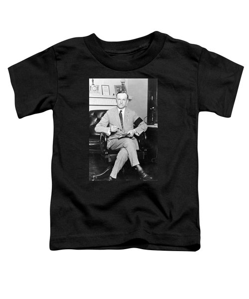 President Calvin Coolidge Toddler T-Shirt by International  Images