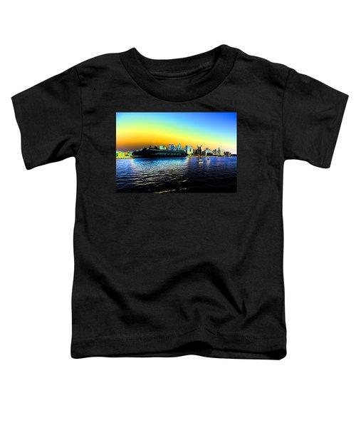 Sydney In Color Toddler T-Shirt by Douglas Barnard