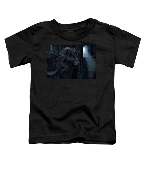 Under The Moonlight Toddler T-Shirt by Lourry Legarde