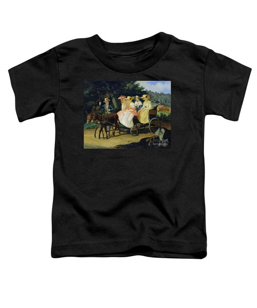 A Run Toddler T-Shirt by Aleksandr Pavlovich Bryullov