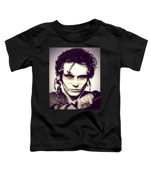 Adam Ant Toddler T-Shirt by Fred Larucci