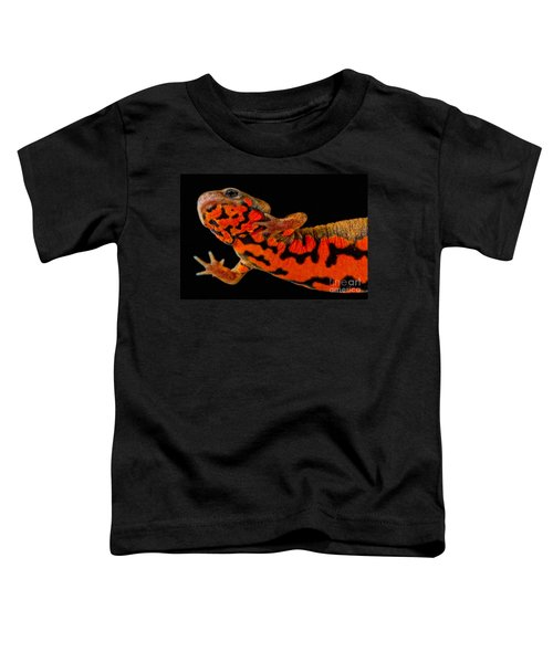 Chuxiong Fire Belly Newt Toddler T-Shirt by Dant� Fenolio