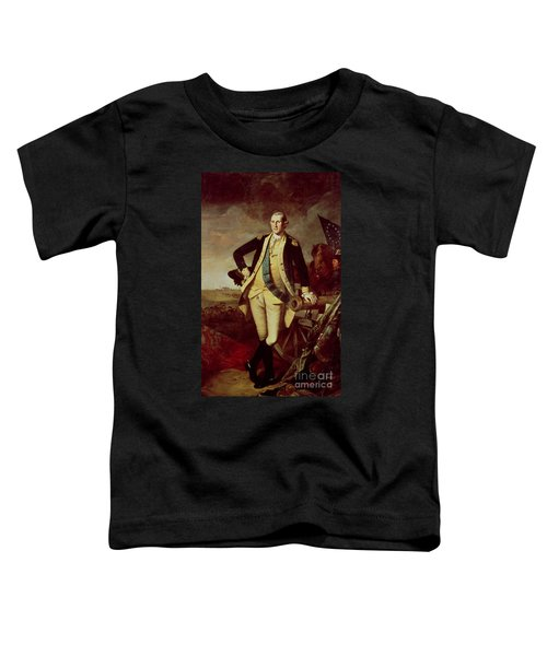 Portrait Of George Washington Toddler T-Shirt by Charles Willson Peale