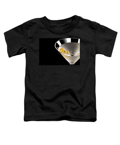 Vodka Martini Toddler T-Shirt by Ulrich Schade