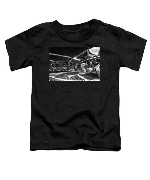 Millennium Park Toddler T-Shirt by Sebastian Musial