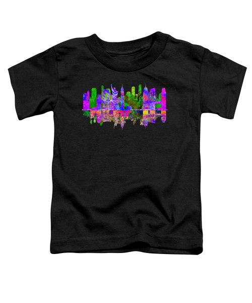 New York Toddler T-Shirt by John Groves
