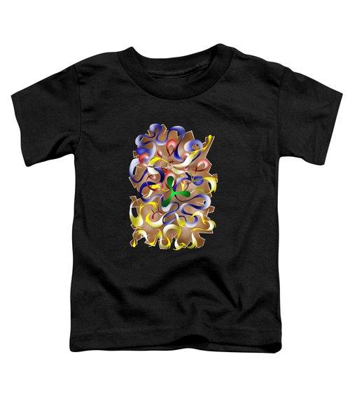 Abstract Digital Art - Jamurina V2 Toddler T-Shirt by Cersatti