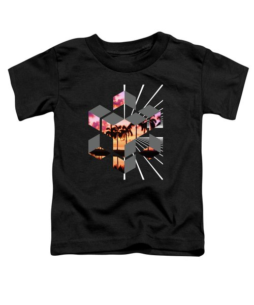 Abstract Space 3 Toddler T-Shirt by Russell K