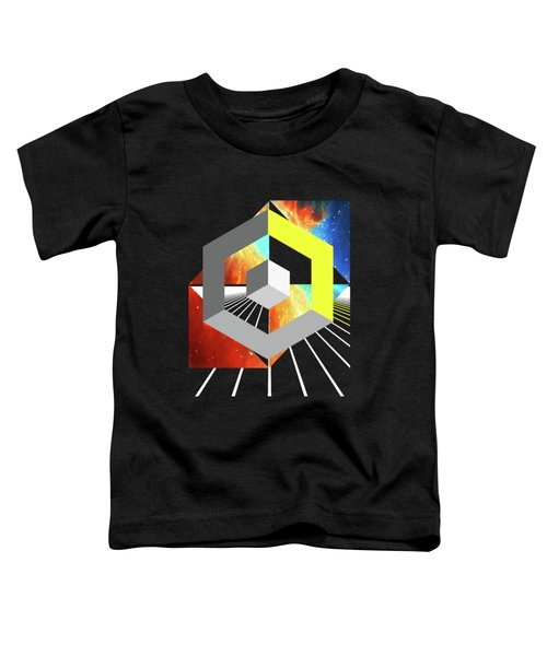 Abstract Space 4 Toddler T-Shirt by Russell K