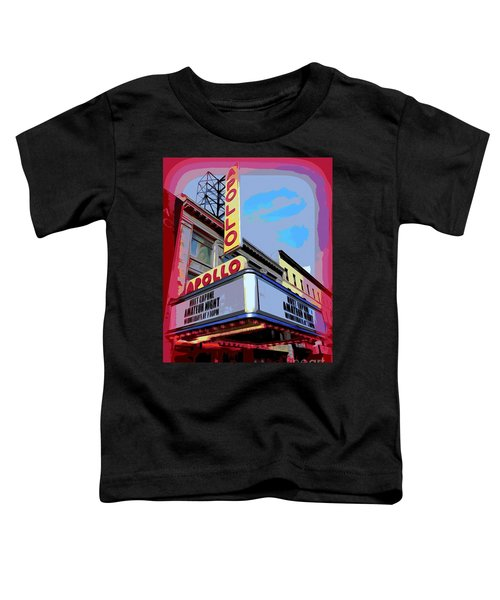 Amateur Night At The Apollo Toddler T-Shirt by Ed Weidman