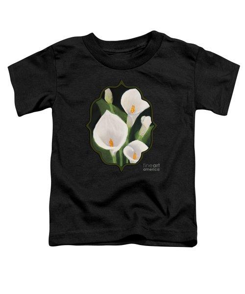 Calla Lilies Toddler T-Shirt by Anastasiya Malakhova
