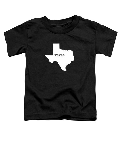 Texas State Toddler T-Shirt by Bruce Stanfield
