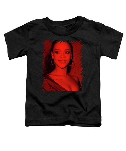 Rihanna Toddler T-Shirt by Mona Jain