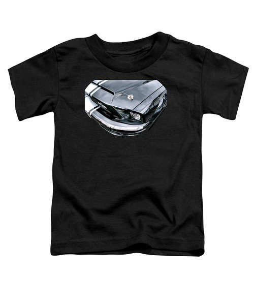 Shelby Super Snake At The Ace Cafe London Toddler T-Shirt by Gill Billington
