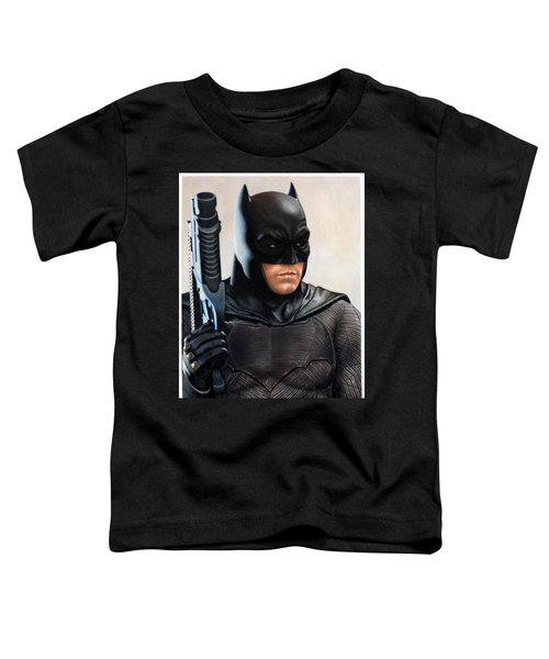 Batman 2 Toddler T-Shirt by David Dias