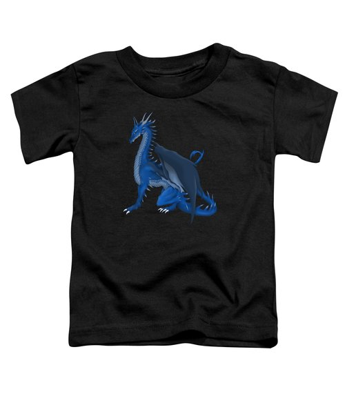 Blue Dragon Toddler T-Shirt by Gaynore Craps
