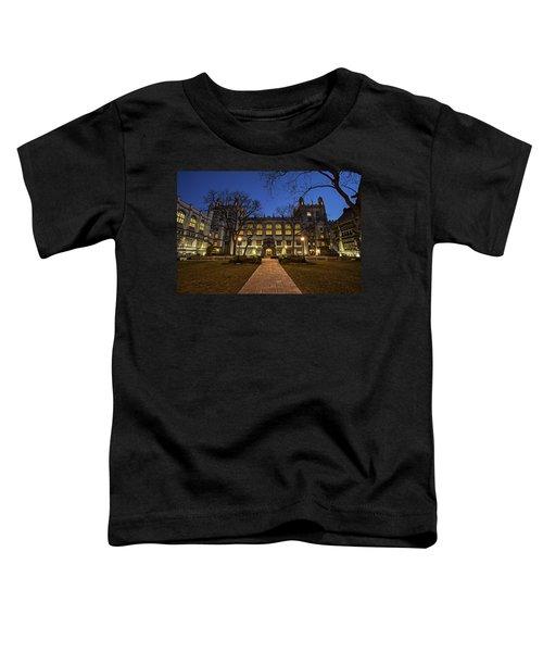 Blue Hour Harper Toddler T-Shirt by CJ Schmit