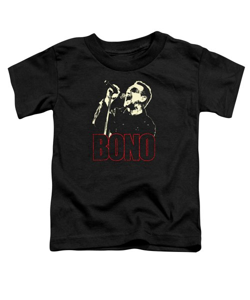 Bono Tour 2016 Toddler T-Shirt by Gandi Rismawan