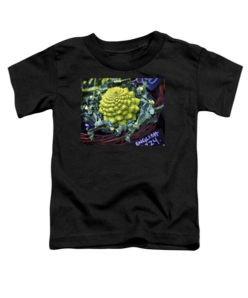 Brassica Oleracea Toddler T-Shirt by Heather Applegate