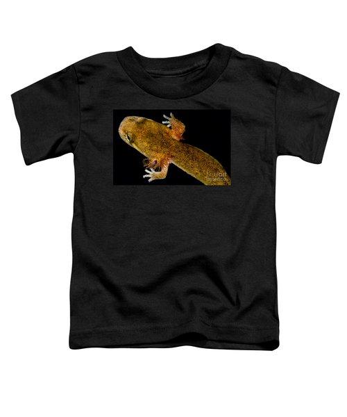 California Giant Salamander Larva Toddler T-Shirt by Dant� Fenolio
