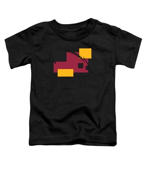 Cardinals Abstract Shirt Toddler T-Shirt by Joe Hamilton