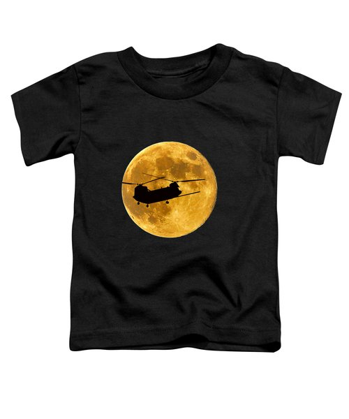 Chinook Moon Color .png Toddler T-Shirt by Al Powell Photography USA