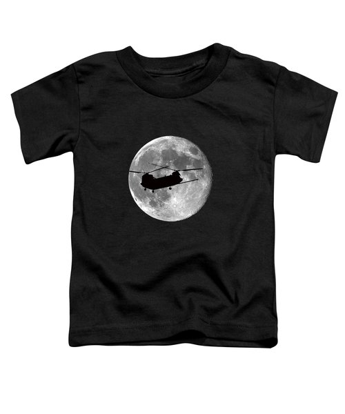 Chinook Moon .png Toddler T-Shirt by Al Powell Photography USA