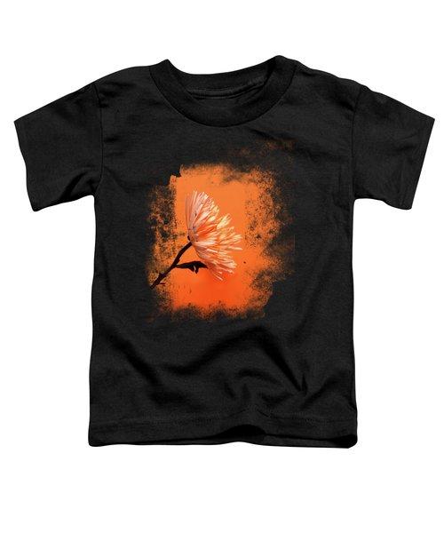 Chrysanthemum Orange Toddler T-Shirt by Mark Rogan