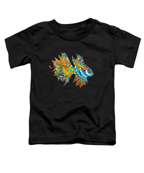 Cosmic Guppy Toddler T-Shirt by Deborah Runham