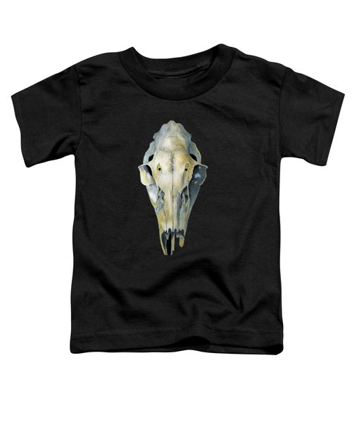 Deer Skull Aura Toddler T-Shirt by Catherine Twomey