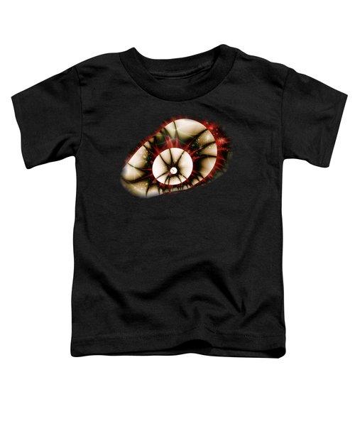 Dragon Eye Toddler T-Shirt by Anastasiya Malakhova
