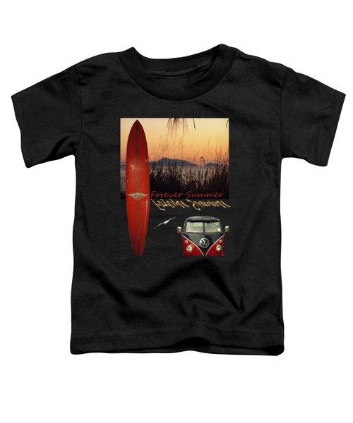 Forever Summer 1 Toddler T-Shirt by Linda Lees