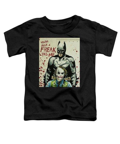 Freak Like Me Toddler T-Shirt by James Holko