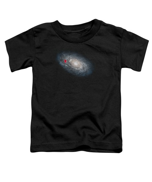 Funny Astronomy Universe  Nerd Geek Humor Toddler T-Shirt by Philipp Rietz