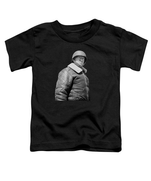 General George S. Patton Toddler T-Shirt by War Is Hell Store