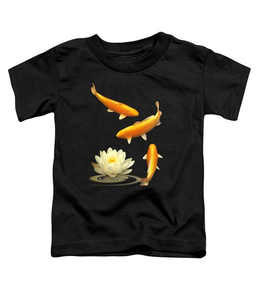 Golden Harmony Vertical Toddler T-Shirt by Gill Billington