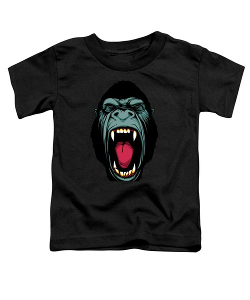 Gorilla Face Toddler T-Shirt by John D'Amelio